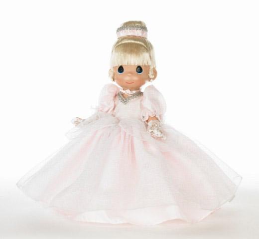 Disney Enchanted Nursery Cinderella Baby Doll In Blue: Disney Precious Moments Precious In Pink Cinderella Doll 2010