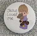 PMC0391E Precious Moments Jesus Loves Me Boy Magnet