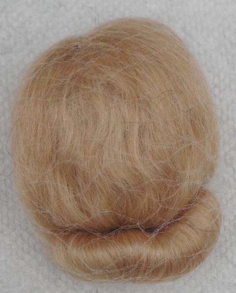 VOG0010C Golden Blonde Mohair Wig for Vintage Vogue Ginny Dolls