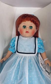VOG1802 Vogue Wee Imp Reissue Ginny Doll In Aqua Dress 2002 1
