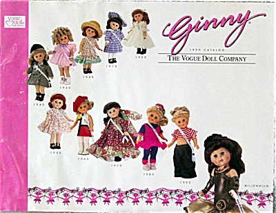 VOG1398 Vogue 1999 Ginny Doll and Accessory Catalog
