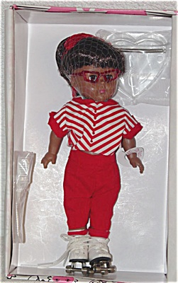 VOG1416A Vogue 1999 Roller Rink African-American Modern Ginny Doll
