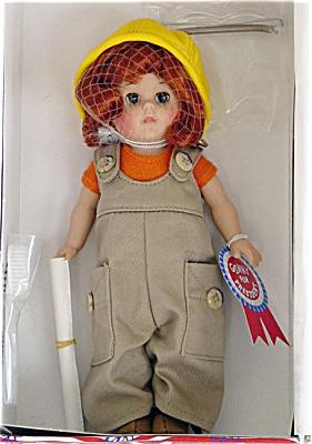 VOG1647 Vogue Ginny Woos the Labor Vote Doll 2000