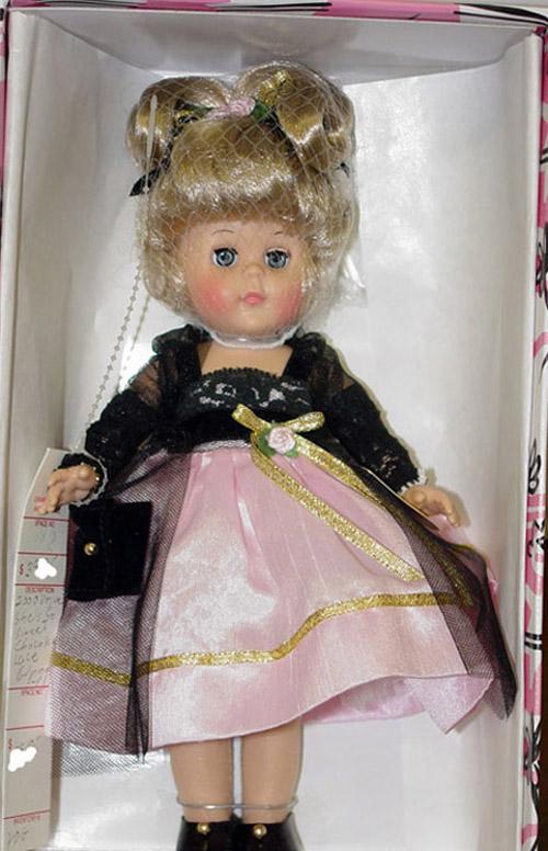 VOG1653 Vogue 2000 Chocolate Lace Modern Ginny Doll