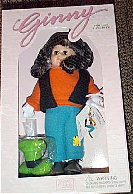 VOG1670 Vogue Disney Ginny Goes Goofy Doll 2000 Disney