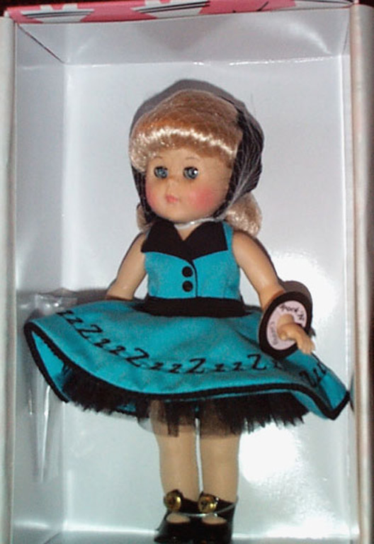 VOG1708 Vogue 2001 Wake Up Little Ginny Rock and Roll Doll
