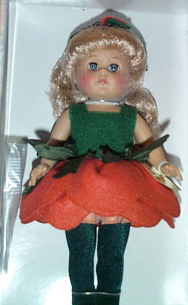 VOG1713 Vogue Cabbage Rose Modern Ginny Doll 2001
