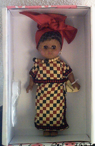 VOG1808 Vogue 2002 Ginny from Africa International Doll