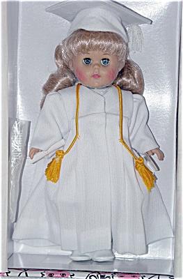 VOG1829A Vogue 2002 Blonde Graduation Ginny Doll