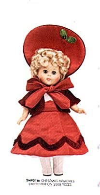 VOG1830 Vogue 2002 Christmas Memories Ginny Doll