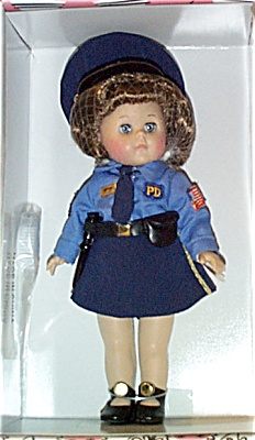 VOG2007 Vogue God Bless America Police Ginny Doll 2003