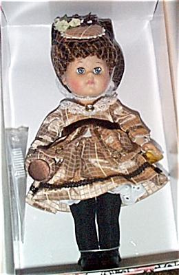 0VOG2017 Vogue Brown Victorian 1875 Ginny Doll 2003