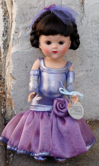 1VOG2362A Vintage Repro Lavender Dancing with Stars Vogue Ginny Doll