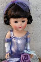 1VOG2362A Vintage Repro Lavender Dancing with Stars Vogue Ginny Doll 2
