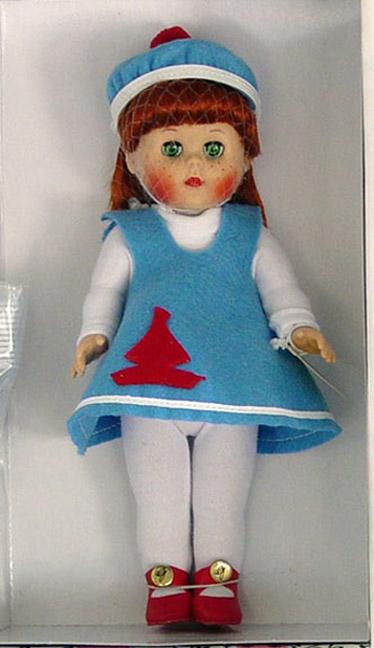 VOG2135 Vogue Wee Imp Ginny Doll in Felt Jumper 2004