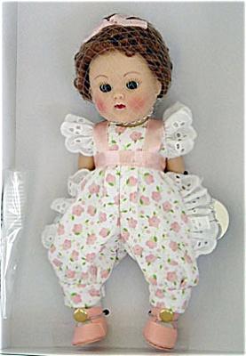 0VOG2196 Vogue Just Peachy Crib Crowd Ginny Vintage Repro Doll 2004