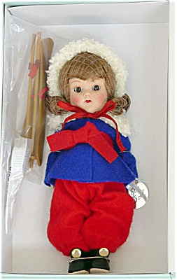 VOG2238B Vogue 2005 Vintage Reproduction Auburn Ginny Skier Doll