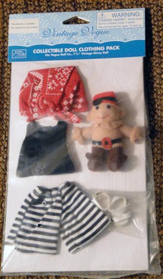 0VOG2598 Vogue Vintage Repro Ginny Doll Pirates Ahoy! Girl Outfit Only