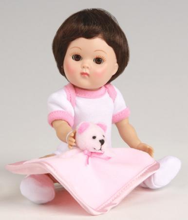 VOG2607 Vogue Brunette Dress Me Vintage Repro Crib Crowd Ginny Doll