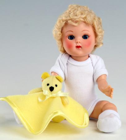 VOG2721 Vogue Blonde Curls Crib Crowd Vintage Repro Ginny Doll