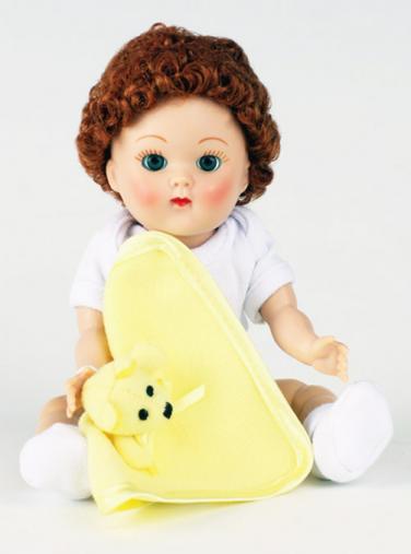 VOG2723 Vogue Redhead Curls Crib Crowd Vintage Repro Ginny Doll