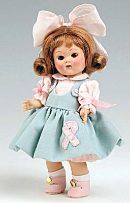 VOG2411C Vogue Doll Club Auburn Breast Cancer Vintage Repro Ginny 07