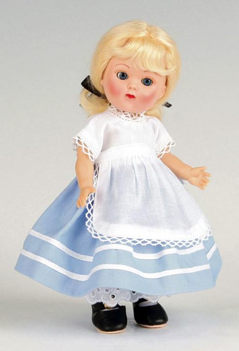 VOG2576A Vogue Marge Meisinger's Alice Vintage Repro Ginny Doll 2008