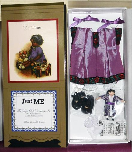 1VOG2896 Vogue A. Everett Just Me Tea Time Doll Outfit, UFDC 2012