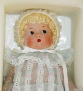 VOG1902B Vogue Just Me Large Blonde Bisque Doll in Blue 2002 1