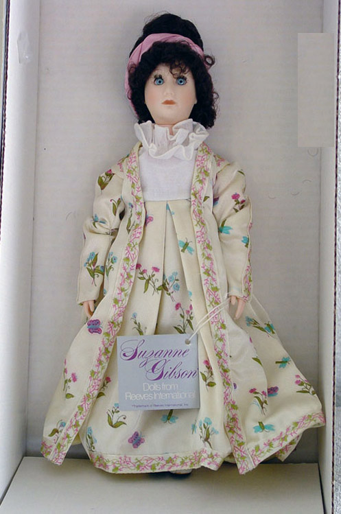 GIB0007 Susan Gibson Dolly Madison First Lady Doll c. 1986-88