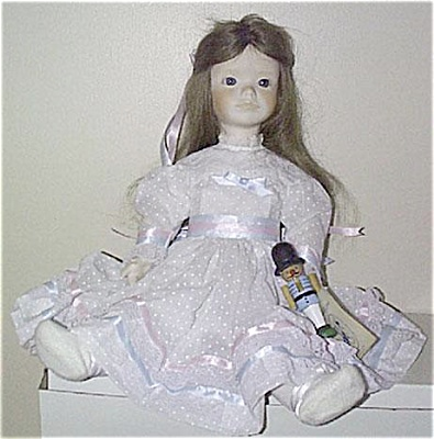 JER0001 Jerri Bisque Clara Doll of Nutcracker Suite 1980