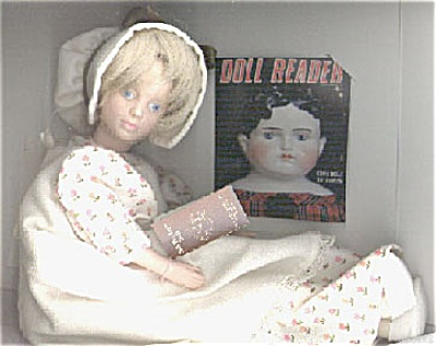 NIS0001A Peggy Nisbet 1st Doll Reader Doll 1984