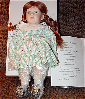 OHM0001 Valerie Bisque Artist Doll by Vivian Ohms 1996