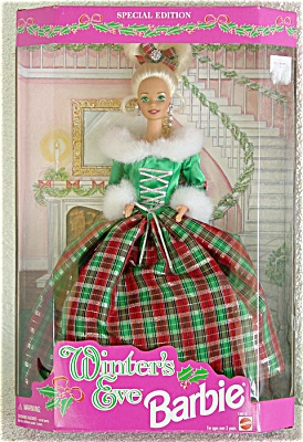 MAT0201 Mattel Cosco Winter's Eve Barbie, 1994