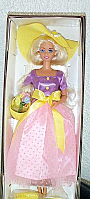 MAT0300B Avon Spring Blossom Blonde Barbie Doll 1995