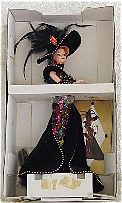 MAT0324 1993 Mattel Bob Mackie Masquerade Ball Barbie Doll