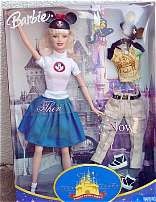 MAT0330 Mattel 2005 Fifty Years Disney Theme Park Barbie Doll