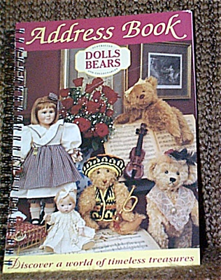 PUB0002 Australian Dolls Bears and Collectables Address Book