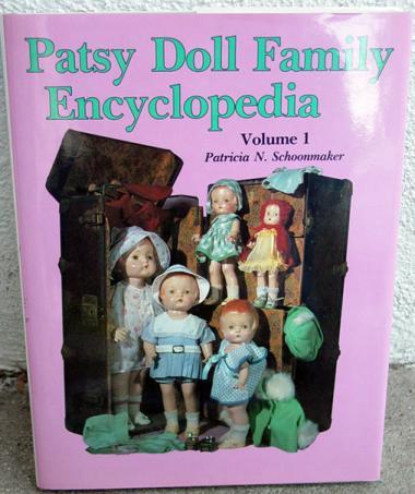 HOB0028B Patsy Doll Family Encyclopedia, V. 1, Schoonmaker, 2nd