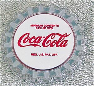 CCE0011B Enesco Coca Cola Vintage Bottle Cap Magnet 1993