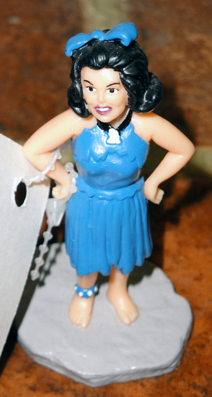 DFS0013 Dakin Betty Flintstones Figure in Blue Dress 1994