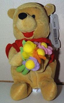 DMB0052E Disney Flower Pooh Bean Bag Late 1990s