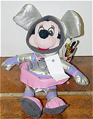 DMB0055B Disney Space Minnie Mouse Bean Bag c. 1998