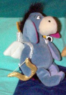 DMB0063B Disney Eeyore Cupid Bean Bag from Disneyland