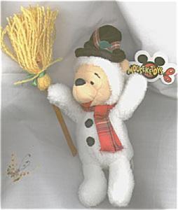 DMB0057A Disney Snowman Pooh Bean Bag, c. 1998