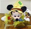 DMB0037D Disney Scarecrow Mickey Mouse Bean Bag c. 1997-98 1