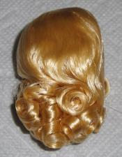0DWG0001A Blonde Curls Wig for 3.5-5 in. Doll Heads, 7-10 in. Dolls 1