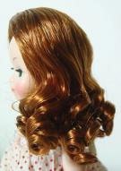 0DWG0001D Light Brown Curls Wig for 3.5-5 in. Heads 7-10 in. Dolls 2