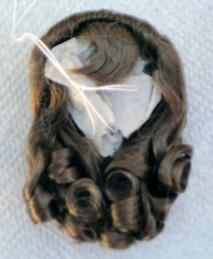 0DWG0002D Light Brown Lindy Wig for 7-10 in. Dolls, 3.5-5 in. Heads 1