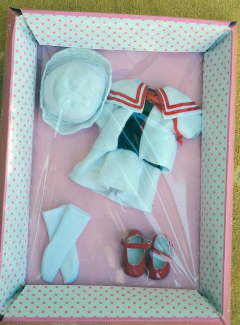 FBP0029 Effanbee Ship Shape Patsy Doll Outfit Only Tonner 2013